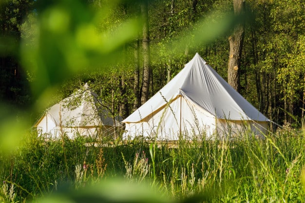 Camping Canvas Bell Tents Outdoors